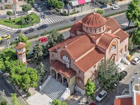 Church of Agia Kyriaki Amfitheas-Paleou Falirou.