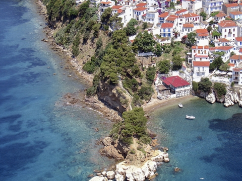 Cape Plakes, Skiathos, Greece
