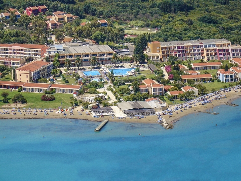 Resort at Northern Corfu