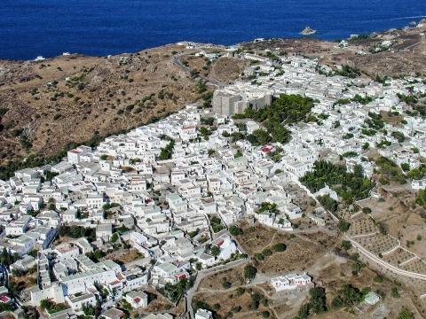 Chora, Patmos, Aegean, Greece