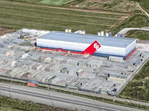 Αεροφωτογράφηση Εργοστασίου.