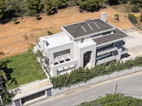 Αεροφωτογράφηση σπιτιού (υπό κατασκευή)