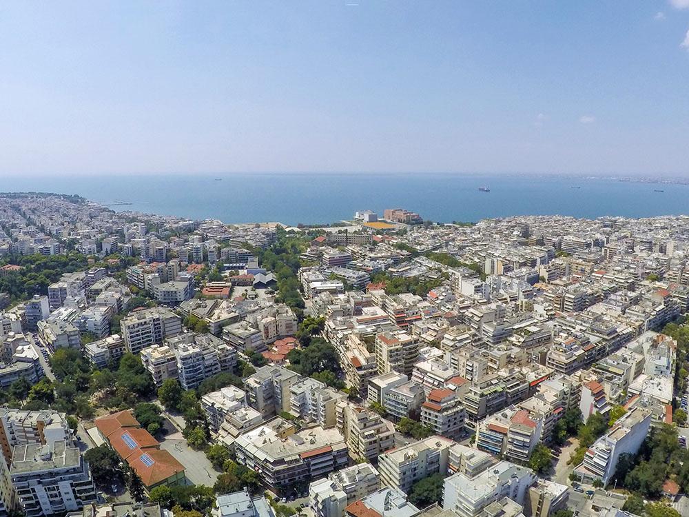 αεροφωτογραφία Βούλγαρη Θεσσαλονίκη
