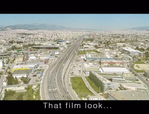 That film look…