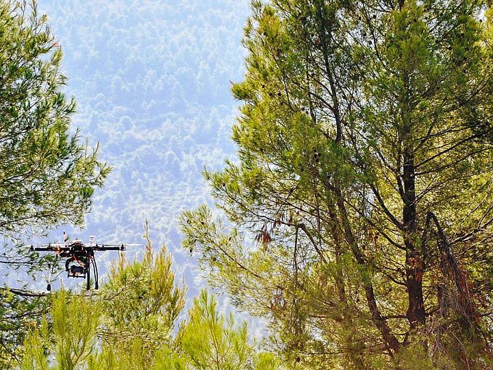 hexacopter aerofotografisi